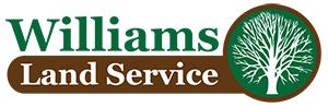 Williams Land Service LLC Sticky Logo